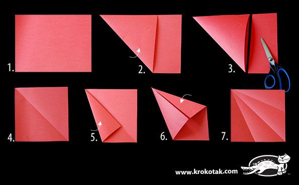How to make a beautiful fish 3D origami (in the technique of ... | 369x595