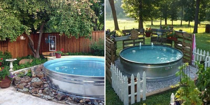 Stock Tank Pools Or Hillbilly Hot Tubs