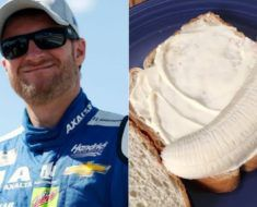 Dale Earnhardt Jr. banana mayo sandwich recipe
