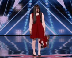 riana creepy girl americas got talent