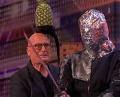 Aaron Crow Americas Got Talent Sword Howie Mandel
