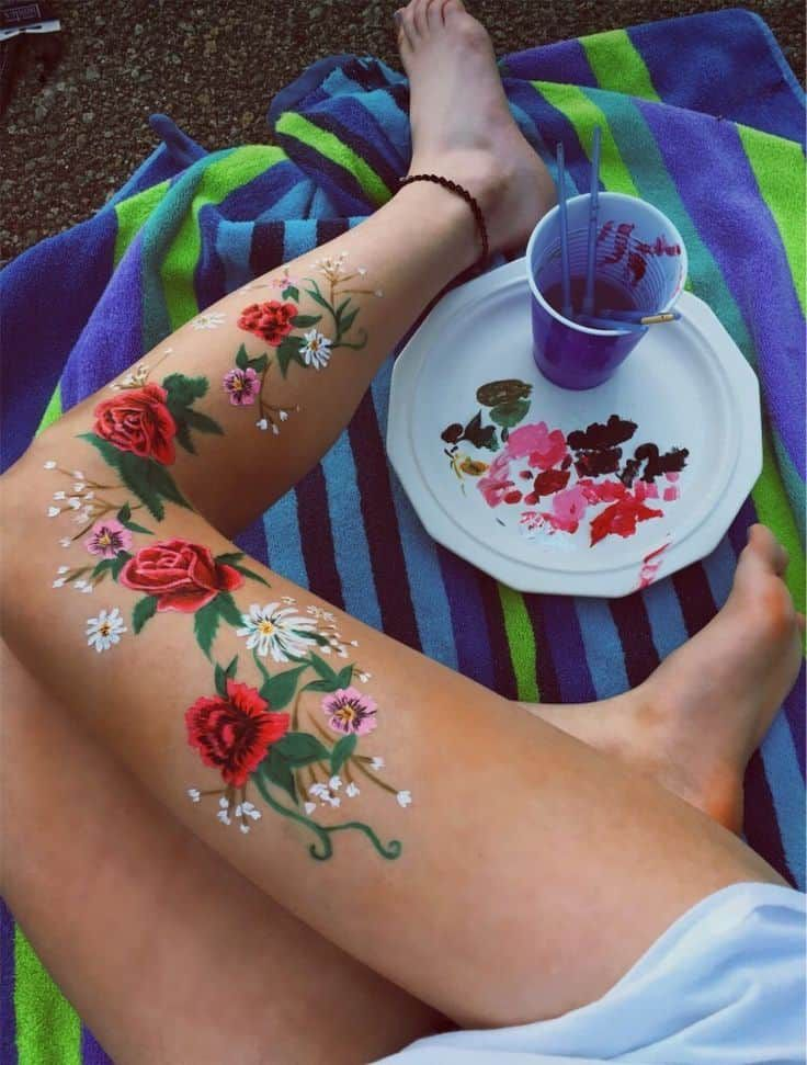 46 Bold Body Painting Art Ideas To Try Page 28 Of 46