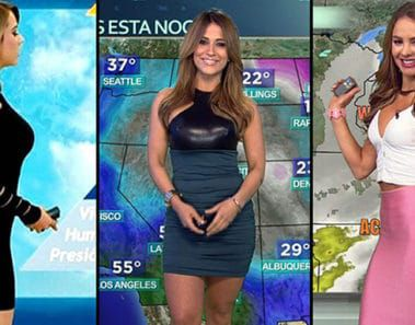 53 Most Beautiful Weather Girls On Television