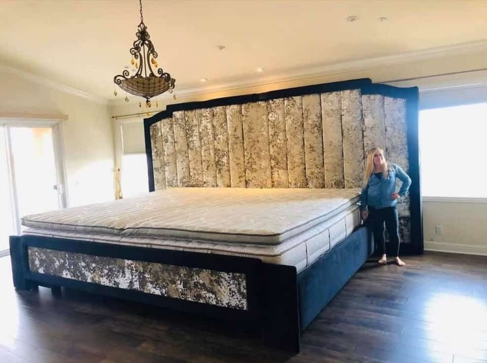 Double King Bed